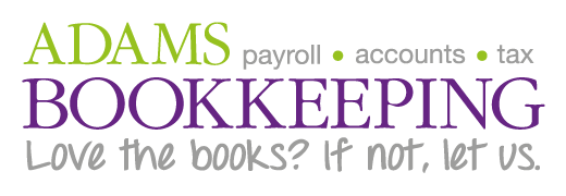 Adams Bookkeeping Logo